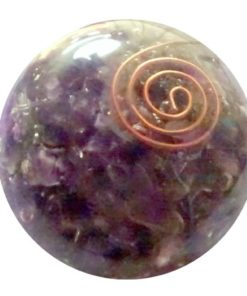 Amethyst Orgonite Ball