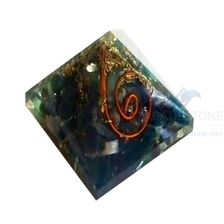 Blood Stone Orgone Baby Pyramid
