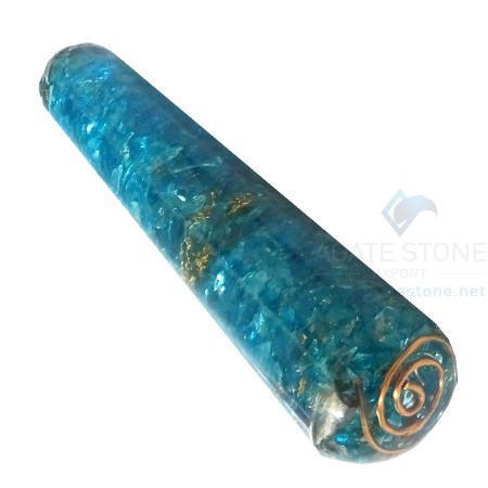 Blue Orgone Energy Smooth Massage Wands