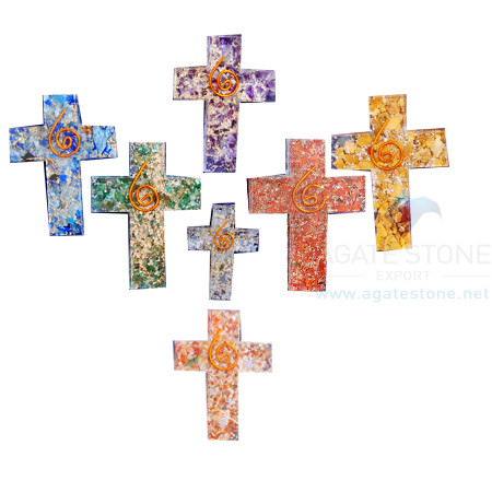 Cross Energy Orgone Chakra Set