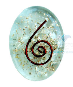 Crystal Orgone Energy Oval Cabochon