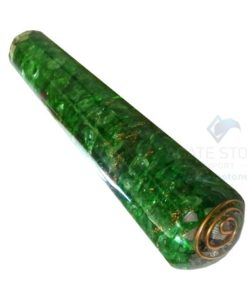 Green Onyx Orgone Energy Smooth Massage Wands