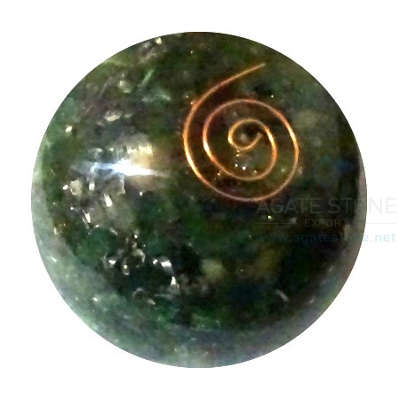 Malachite Orgonite Ball