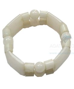 MoonStone Quartz Fancy Bracelets (Elastic)
