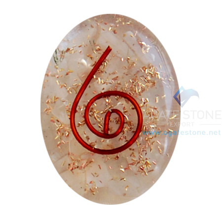 Moonstone Orgone Energy Oval Cabochon