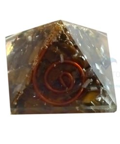 Tiger Eye Orgone Baby Pyramid