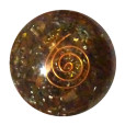 Tiger Eye Orgonite Ball