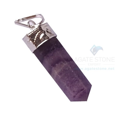 Amethyst Pencil Pendants