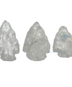 Crystal Quartz Arrowheads (2)