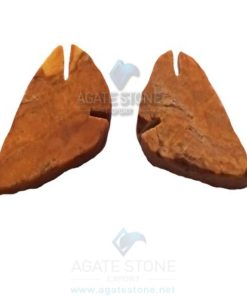 Golden Quartz Flat Arrowheads
