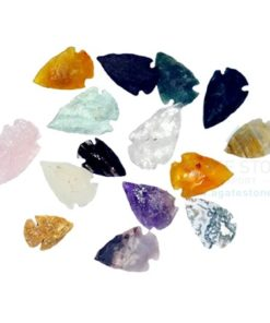 Mix Gemstone Crystal Arrowheads