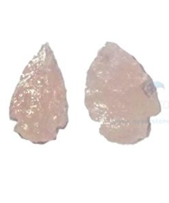 Rose Quartz Crystal Arrowheads