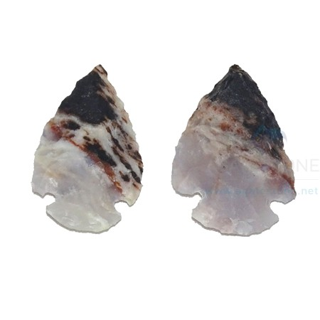 Two Colour Hyderabadi Stone Crystal Arrowheads