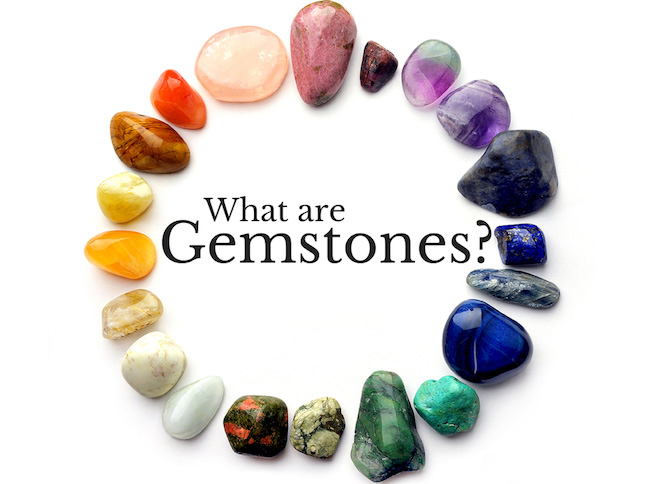 What are gemstones?