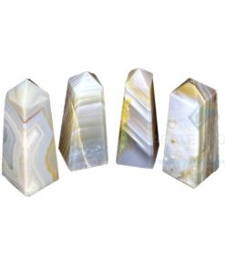 Banded Agate Stone Tower