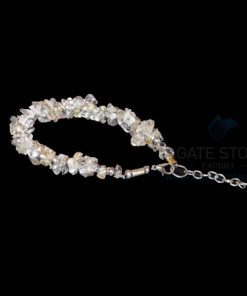 Crystal Quartz Chips Bracelet