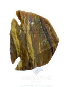 Fish Shaped Agate Stone Arrowhead