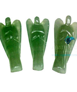 Green Aventurine Stone Angels