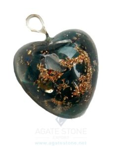 orgone heart pendants