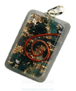 Orgone Rectangle Pendant
