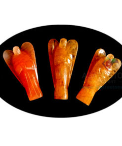 Red Aventurine Stone Angels