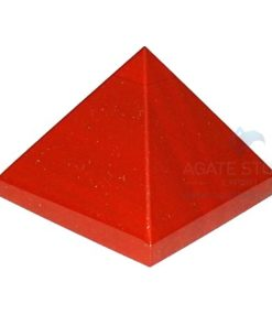 Red Jasper Agatestone Pyramid