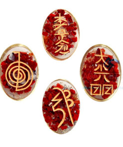Red Jasper Orgone Usai Reiki Set