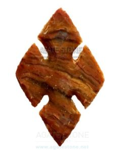 Religious Cross Shaped Agate Stone Arrowhead