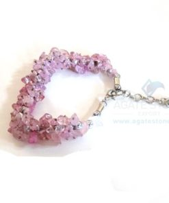 Rose Quartz Chips Bracelet