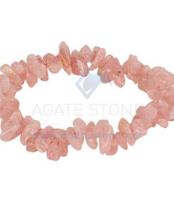 Rose Quartz Chips Bracelets