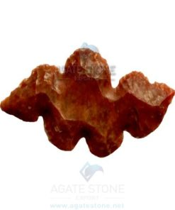 Snake Shaped Agate Stone Arrowhead