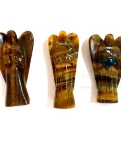 Tiger Eye Stone Metaphysical Angels