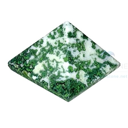 Tree Agate Stone Pyramid
