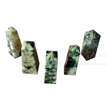 Tree Agate Stone Tower