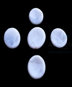 White Agate Worry Stone