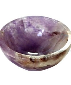 2 Inch Amethyst Gemstone Bowl