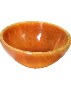2 Inch Golden Quartz Gemstone Bowl