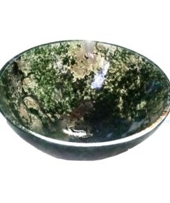 2 Inch Moss Agate Bowls