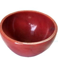 2 Inch Red Jasper Gemstone Bowls