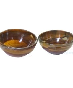 2 Inch Tiger Eye Crystals Bowls
