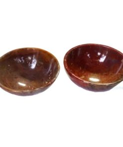 2 inch Fancy Red Gemstone Bowls