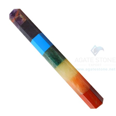 7 Chakra Bonded Healing Stick Without Points