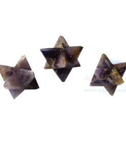Amethyst Big Merkaba Star