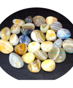 Banded Agate Tumbled Stone