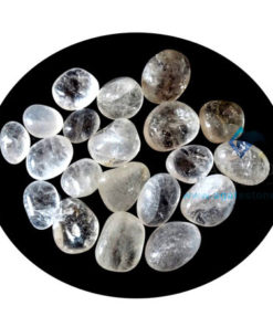 Clear Crystal Quartz Tumbled Stones