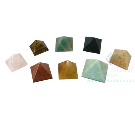 Mix Gemstone Pyramids