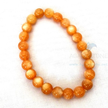 Gold Sunstone Beaded Bracelets