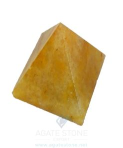 Golden Quartz Pyramids (2)