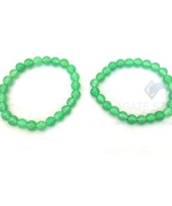 Green Jadetite Beaded Bracelets