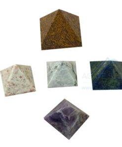 Mix Gemstone Healing Pyramids